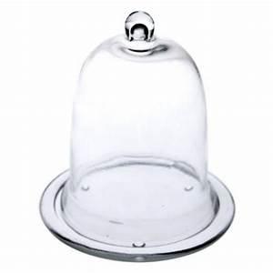 Cloche En Verre Avec Socle : cloche en verre avec socle taille au choix ebay ~ Teatrodelosmanantiales.com Idées de Décoration