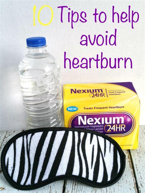 tips   avoid heartburn tobethode