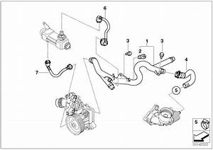 Bmw 335d Refrigerant Pipe  Cooling  Engine