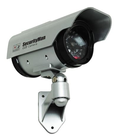 Securityman Solar Indooroutdoor Dummy Security Camera