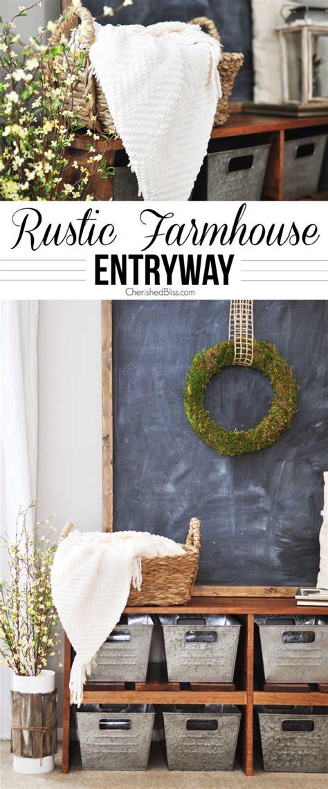 rustic farmhouses rustic farmhouse entryway cherished bliss