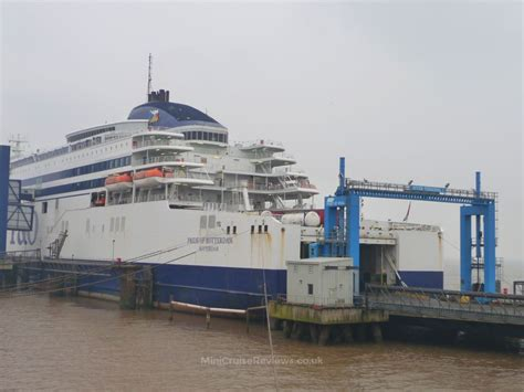 Car Parking Hull Ferry by P O Ferries Pride Of Rotterdam Statistics Deck Plan