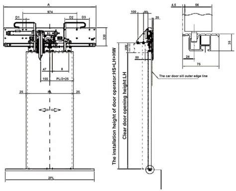 Elevator Door Width & Dimensions For Call Buttons Floor