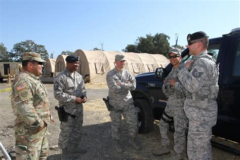 california air guard joins army guard  wildfire recovery