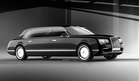 Putin's Russian State Sedan, Limo And Suv Look Eerily