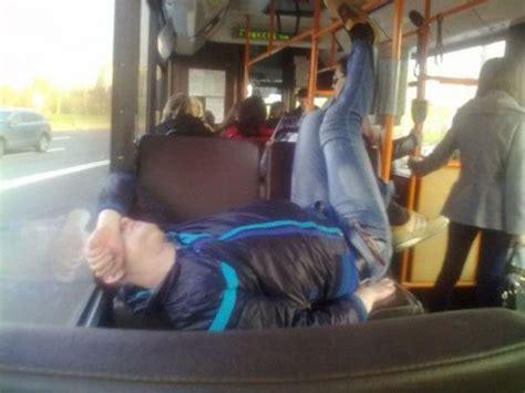 hilarious  weird places people fall asleep