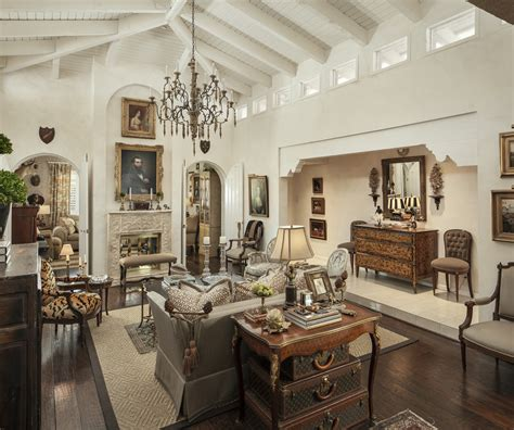french style living room interior decor  living
