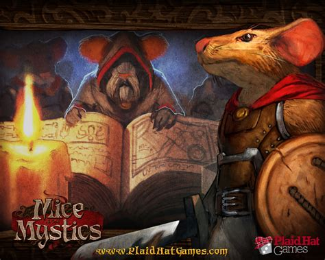 mice  mystics games plaid hat games