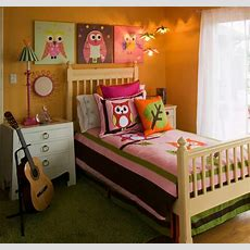 Girl's Mod Owl Themed Bedroom  Modern  Bedroom Other