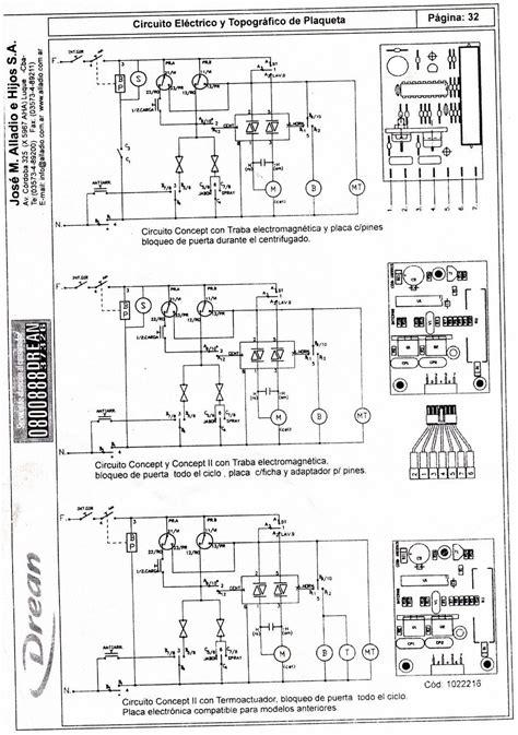 conexion de lavarropas drean concept unicommand 116 yoreparo