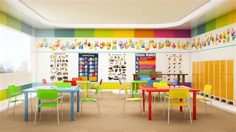 kindergarten interior design  behance