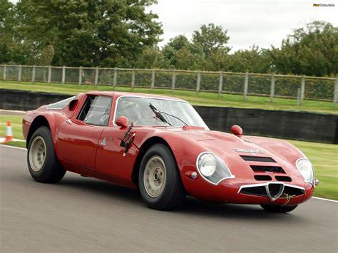 Alfa Romeo Tz2 by Alfa Romeo Giulia Tz2 Stradale 1965