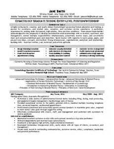 resume for beginner cosmetologist beautician cosmetologist resume exle resume resume templates and resume exles