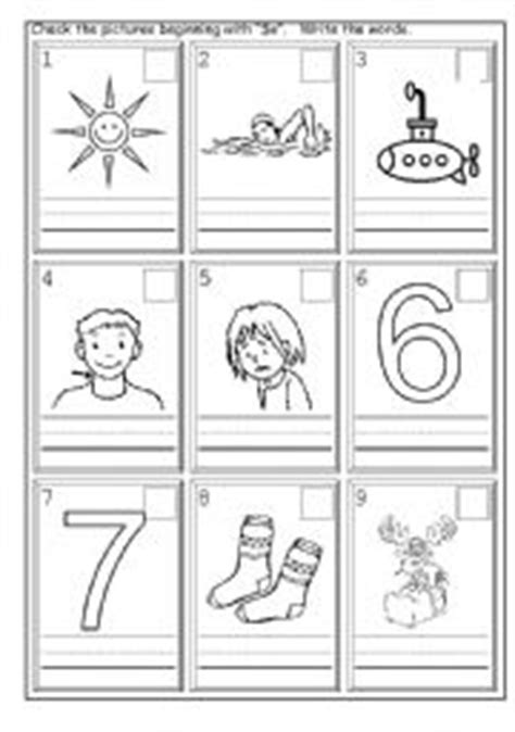 English Worksheets Phonics Ss