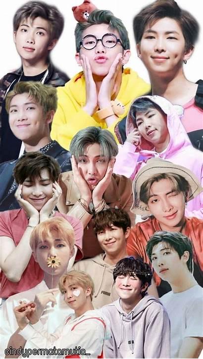 Namjoon Bts Kim Rm Collage Lockscreen Jungkook