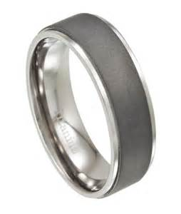 mens wedding bands titanium 39 s wedding ring with matte finish