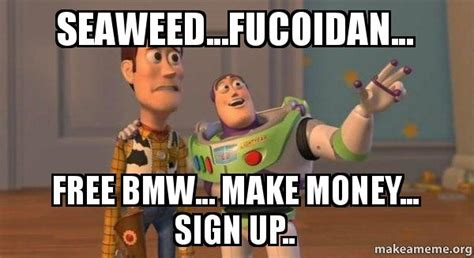 Make Meme Free - seaweed fucoidan free bmw make money sign up make a meme
