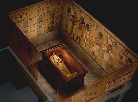 Infrared Scans Show Possible Hidden Chamber In King Tut's Tomb