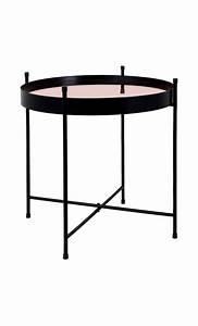 Table D Appoint Miroir : achetez votre table basse design plateau cuivre miroir pas ~ Teatrodelosmanantiales.com Idées de Décoration