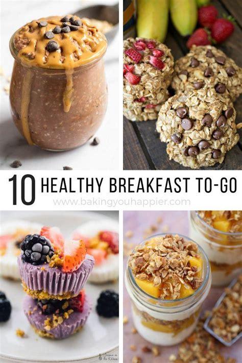healthy breakfast ideas baking  happier