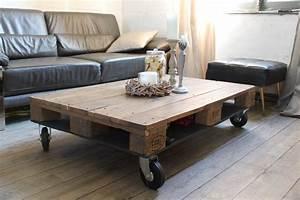 Table Basse Sur Roulette : 71 best palette table basse id es images on ~ Melissatoandfro.com Idées de Décoration