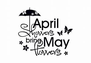 April showers bring may flowers clipart - Clipart ...