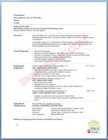 executive chef resume format sushi chef resume sandle quotes