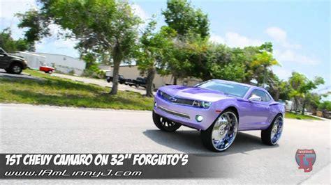 Camaro On 32'' Forgiato.....linny J