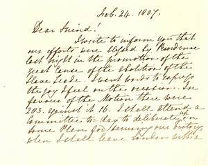 letter a manuscript With manuscript letters
