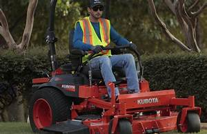 Kubota Introduces New Efi Models To Its Z700 Series Mowers