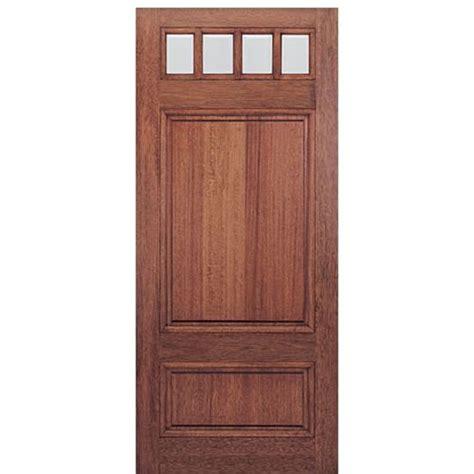 """Mai Doors Htc6001  36""""x80"""" 4lite Craftsman Entry Door"""
