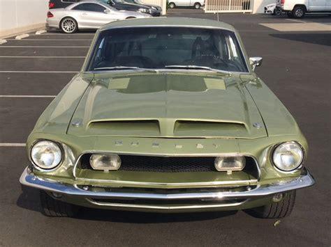 1968 Shelby Gt350 Hertz Lime Gold Gt 350 Full History
