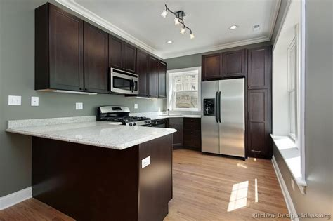 dark cabinets with wood floors pictures of kitchens traditional dark espresso kitchen