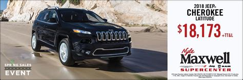 Hours may change under current circumstances Nyle Maxwell Chrysler Dodge Jeep Ram | Auto Dealer in ...