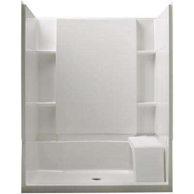 bathroom inserts home depot rectangle shower stalls kits showers the home depot
