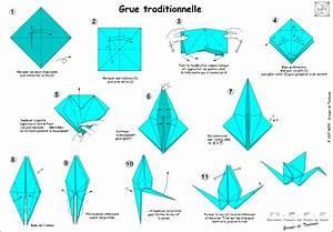 Comment Faire Un Oiseau En Papier : une feuille de papier une succession de plis pas de d coupe pas de colle l origami un art ~ Melissatoandfro.com Idées de Décoration