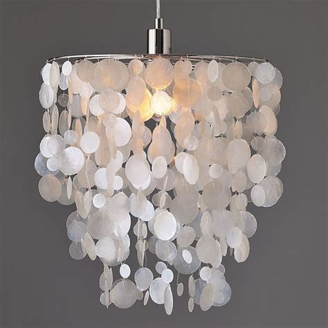 capiz pendant white contemporary pendant