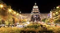 Wenceslas Square in Prague: hostiry, terraces, shopping ...