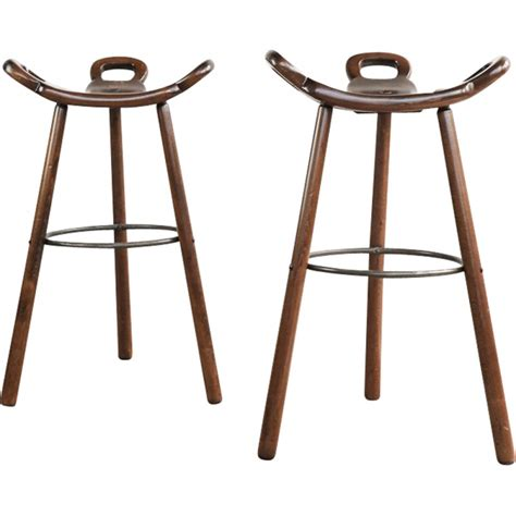 1950s Bar Stools Vintage Brutalist Bar Stool 1950s Design Market