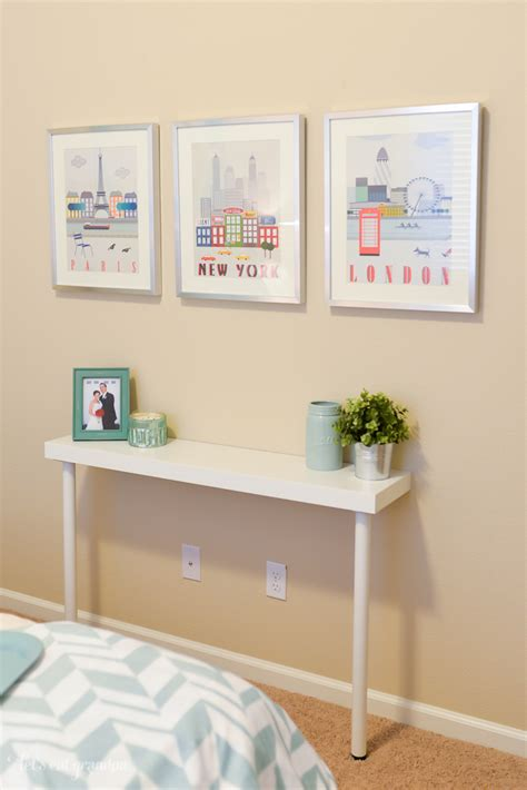 Narrow Sofa Table Ikea by Picture Of Diy Ikea Hack Narrow Console Table