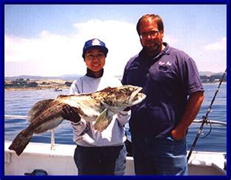 Emeryville Party Boat Fishing by Queen Of Hearts Sportfishing Captain Bob Ingles Pillar