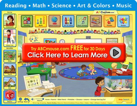 abcmouse learning phonics educational 554 | classroom