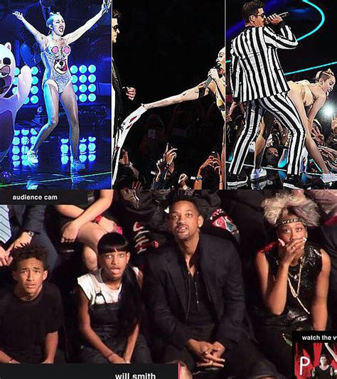 Robin Thicke Meme - miley cyrus twerks against robin thicke will smith s family reaction miley cyrus know