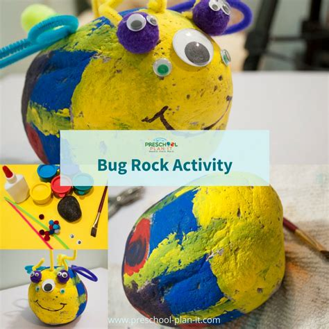 bugs and insects preschool theme 414 | bugs and insects bug rock