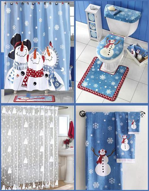 christmas bathroom decor ideas