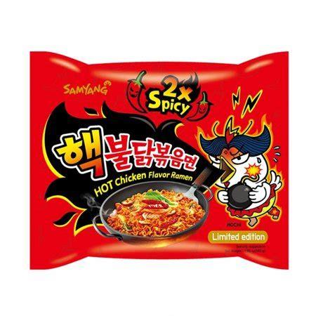 samyang ramen spicy chicken roasted noodles 2x spicy