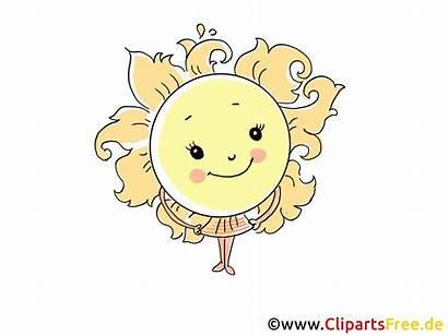 Clipart Sonne Sommer Gratis Cartoon Bild Als