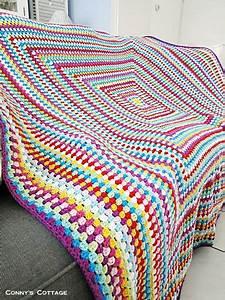 Granny Square Decke Häkeln : big granny square blanket handarbeiten ~ Orissabook.com Haus und Dekorationen
