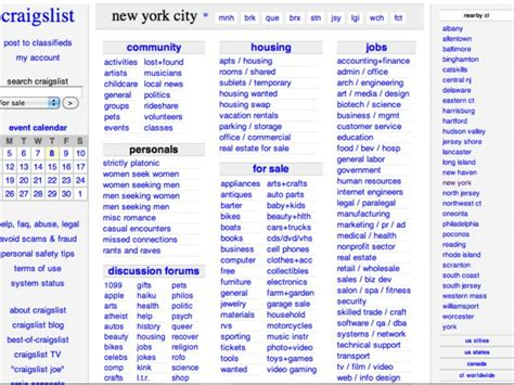 New York Resumes Craigslist by Ny Ag Subpoenas Craigslist For Sellers Price Gouging In