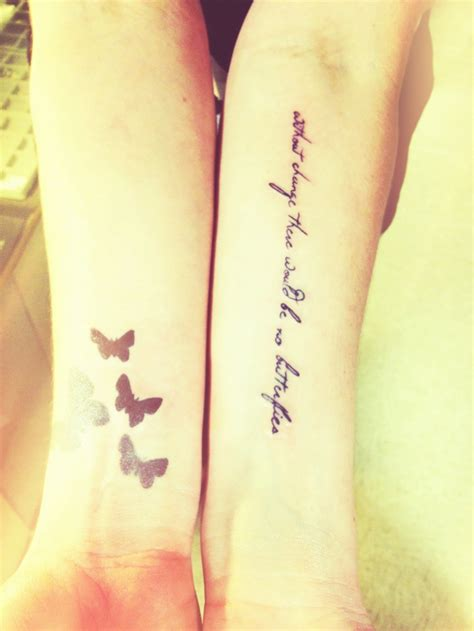 change     butterflies inked
